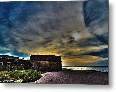 Fort Clinch Metal Print