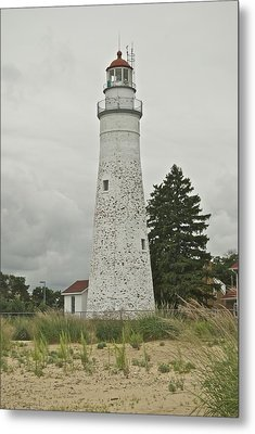 Fort Gratiot Lighthouse Metal Print by Michael Peychich