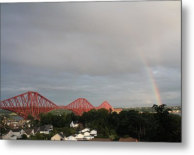 Forth Bridge Metal Print by David Grant