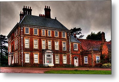Metal Print featuring the photograph Forty Hall by David Harding