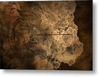 Fossilite Metal Print by Christopher Gaston