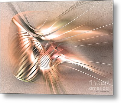 Found By Nile Metal Print by Abstract art prints by Sipo