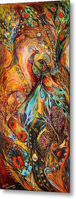 Four Elements Earth Part 3 From 4 Metal Print by Elena Kotliarker