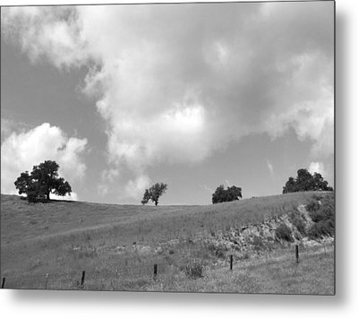 Metal Print featuring the photograph Four On The Hill by Kathleen Grace