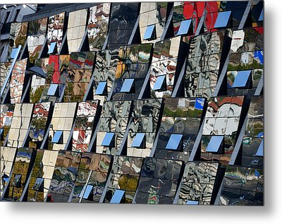 Fragmented Guggenheim Museum Bilbao Metal Print by RicardMN Photography