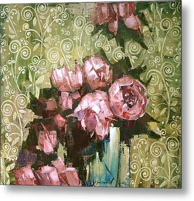 Fragrant Luxury. Metal Print by Anastasija Kraineva