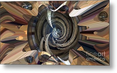 Frame Ceiling Metal Print by Ron Bissett