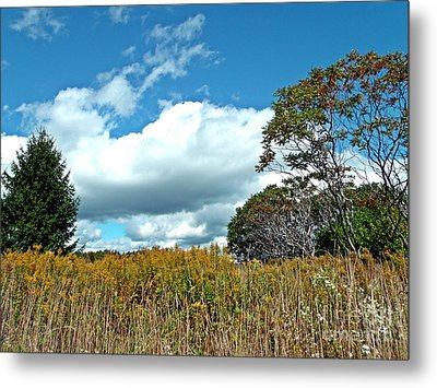 Metal Print featuring the photograph Framed Clouds by Christian Mattison