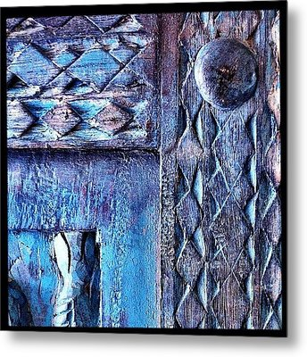 Framed Metal Print by Mark B