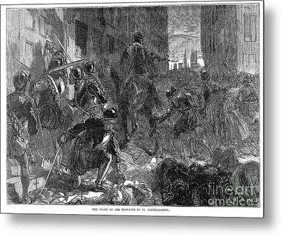 France: Massacre, 1572 Metal Print by Granger