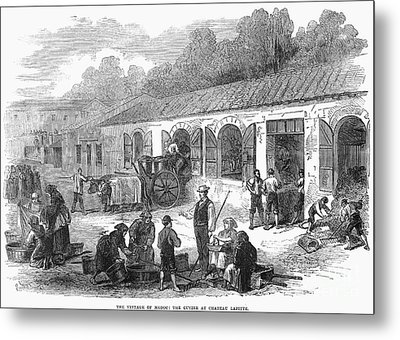 France: Winemaking, 1871 Metal Print by Granger
