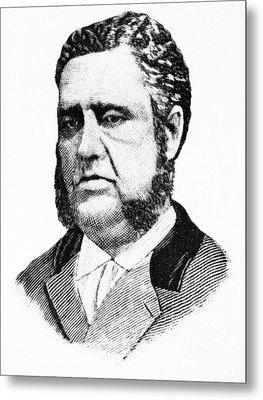 Francis Louis Cardozo (1836-1907) Metal Print by Granger