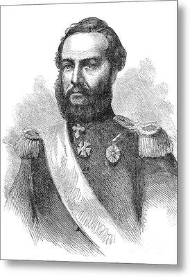 Francisco Solano Lopez Metal Print by Granger