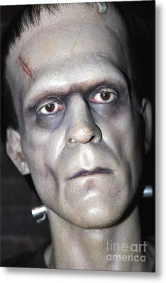 Frankensteins Monster Metal Print by Sophie Vigneault