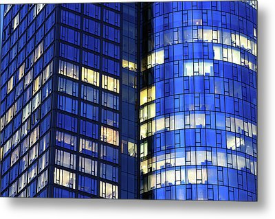 Frankfurt Skyscrapers Metal Print by Jumper