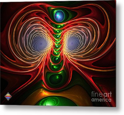 Freak Eyes Metal Print by Vidka Art