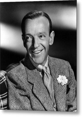 Fred Astaire, Ca. 1940s Metal Print by Everett