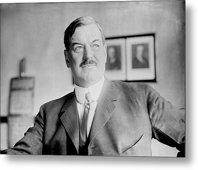 Fred. W. Upham Died 1923, 1923 Metal Print by Everett