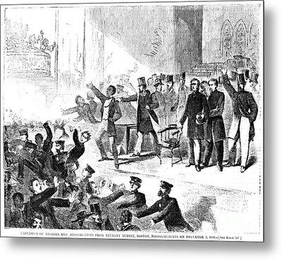 Frederick Douglass, 1860 Metal Print by Granger