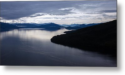 Frederick Sound Morning Metal Print by Mike Reid