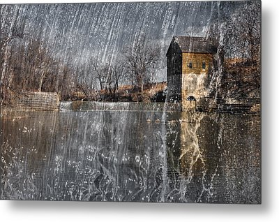 Metal Print featuring the photograph Fredonia Mill by Brian Duram