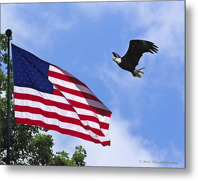 Metal Print featuring the photograph Freedom Feeds The Family by Randall Branham