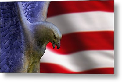 Freedom Flyer Metal Print by Anthony Citro