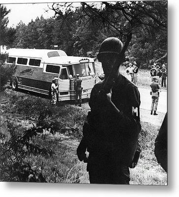 Freedom Riders, 1961 Metal Print by Granger