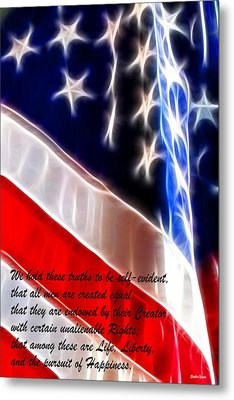 Freedom Metal Print by Stephen Younts