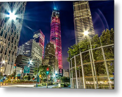 Freedom Tower From West Side Highway. Metal Print