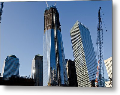 Freedom Towers Metal Print by Johnny Sandaire