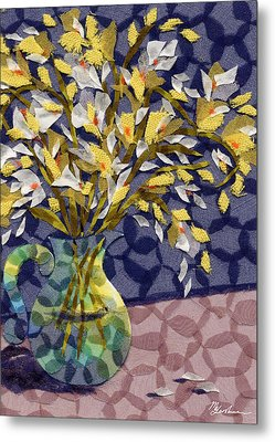 Freesia Metal Print by Marina Gershman
