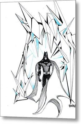 Freeze Metal Print by Kendrew Black