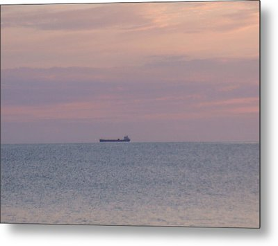 Metal Print featuring the photograph Freighter by Bonfire Photography