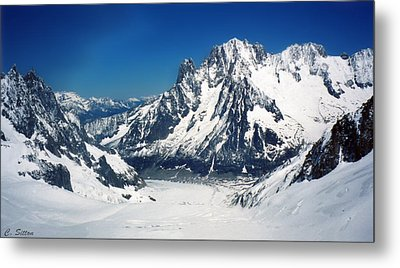 French Alps Metal Print by C Sitton