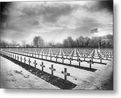 French Cemetery Metal Print by Simon Marsden