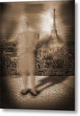 French Clown Metal Print by Liezel Rubin