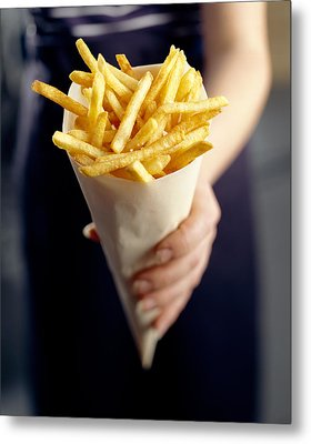 French Fries Metal Print by David Munns