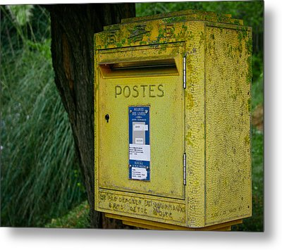 French Mailbox Metal Print by Georgia Fowler