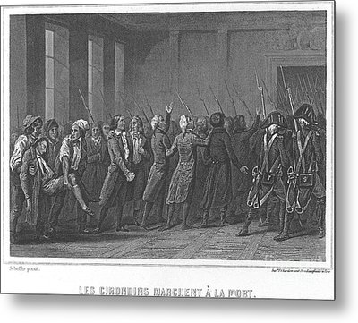 French Revolution, 1793 Metal Print by Granger