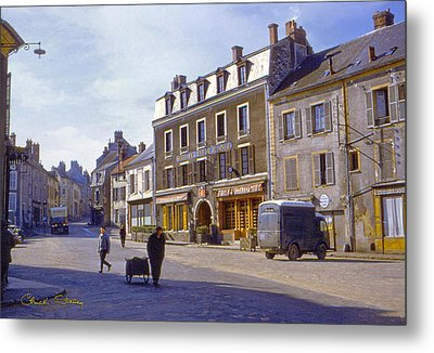 French Village Metal Print by Chuck Staley