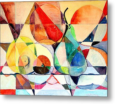 Fresh Fruit Metal Print by Mindy Newman