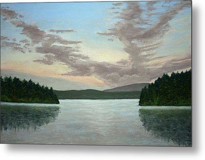 Friday Harbor Sunrise Metal Print by Carl Capps
