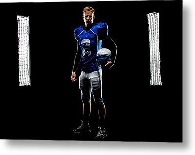 Metal Print featuring the photograph Friday Night Lights by Jim Boardman