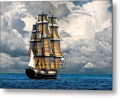 Friendship Of Salem Metal Print by Fred LeBlanc