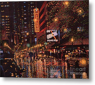 Frog Bar Metal Print by David Bearden