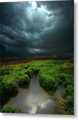 From Above Metal Print by Phil Koch
