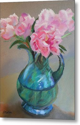 From The Garden Metal Print by Sylvia Miller