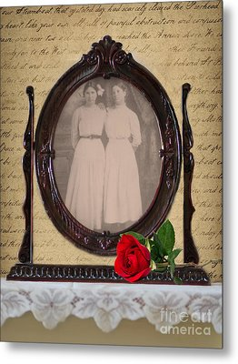 From The Past Metal Print by Betty LaRue
