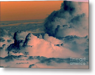 From The Plane Metal Print by Silvie Kendall
